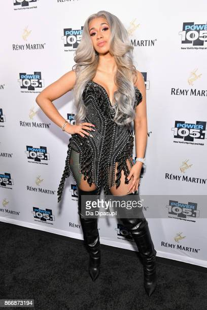 Cardi B attends Power 1051's Powerhouse 2017 at the Barclays Center on October 26 2017 in Brooklyn New York City City