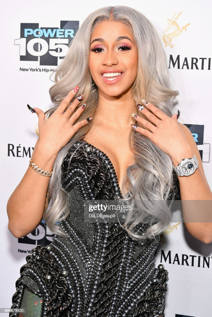 Cardi B attends Power 105.1's Powerhouse 2017 at the Barclays Center on October 26, 2017 in Brooklyn, New York City City.
