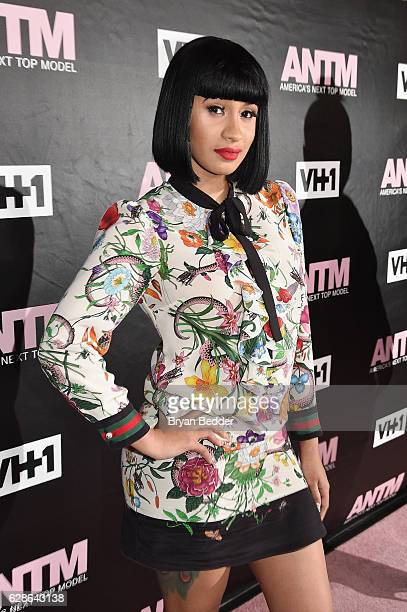 Cardi B attends the VH1 America's Next Top Model premiere party at Vandal on December 8 2016 in New York City