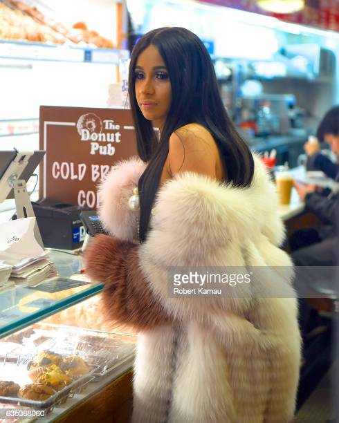 Cardi B seen out in Manhattan on February 14 2017 in New York City