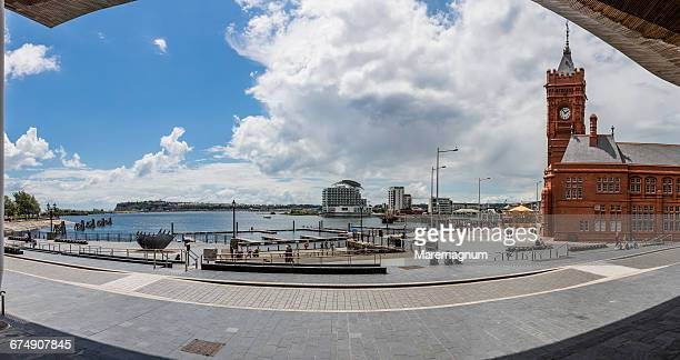 Cardiff Bay, the bay with the Pierhead building