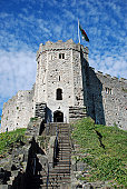 Cardiff Castle; Cardiff, Wales