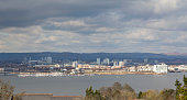 View of Cardiff City from Penarth