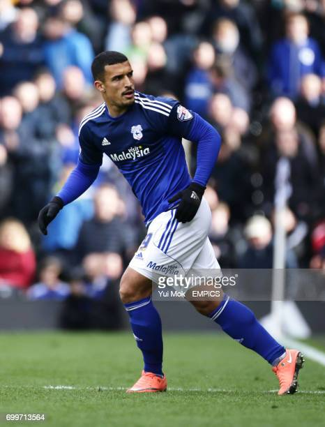 Cardiff City's Idriss Saadi during their Sky Bet Championship football match against Fulham at Craven Cottage in London