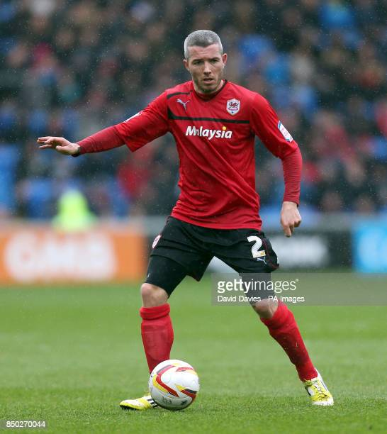 Cardiff City's Kevin McNaughton during the npower Football League Championship match at Cardiff City Stadium Cardiff