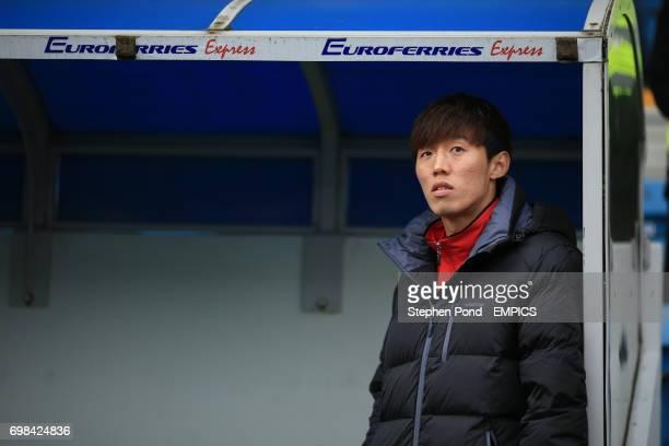 Cardiff City's Kim BoKyung