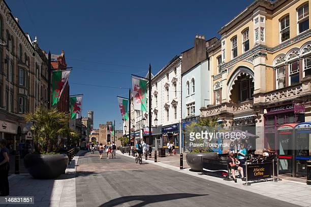 Cardiff's High Street (Heol Fawr)