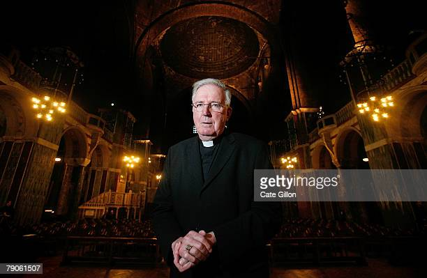 Cardinal Cormac MurphyO'Connor stands in Westminster Cathedral on January 17 2008 in London England The Cardinal has launched a 3 million GBP...