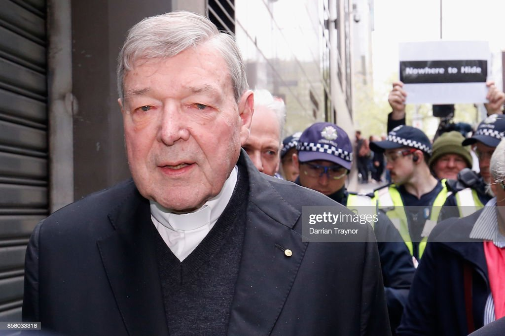 Cardinal George Pell Attends Court Hearing Ahead Of Historical Child Abuse Trial