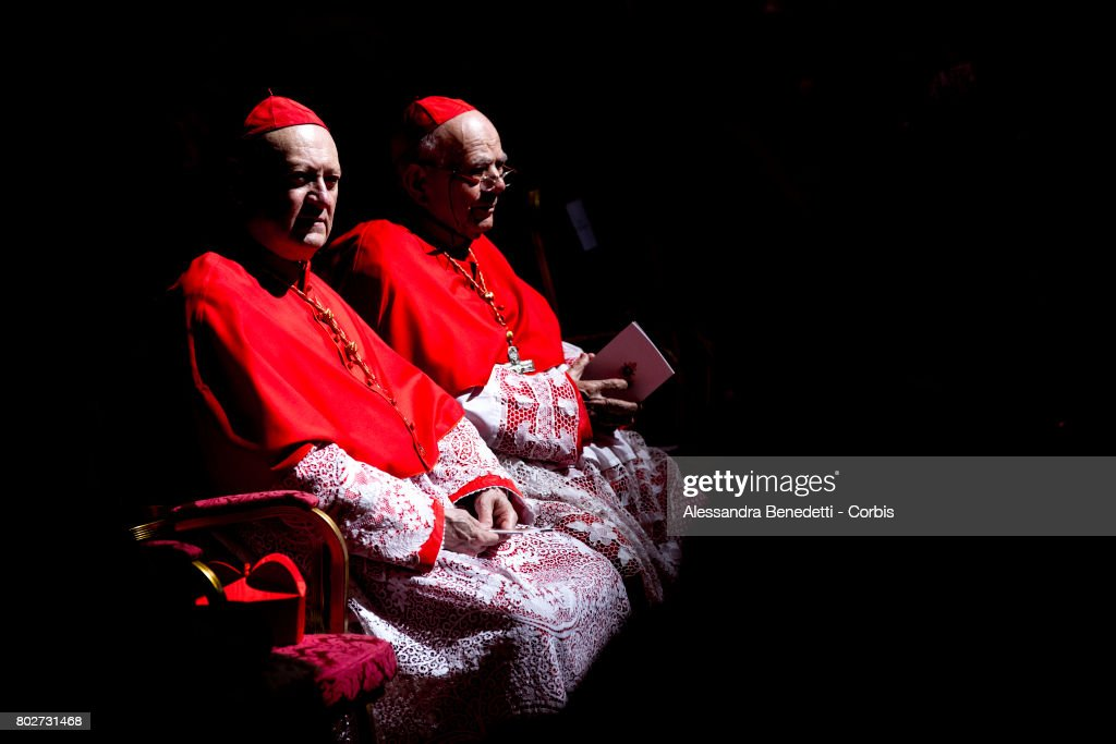Cardinal Gianfranco Ravasi attends a consistory ceremony lead by Pope Francis on June 28, 2017 in Vatican City, Vatican. Pope Francis on Wednesday created five new cardinals coming from Mali, Spain, Sweden, Laos and El Salvador.