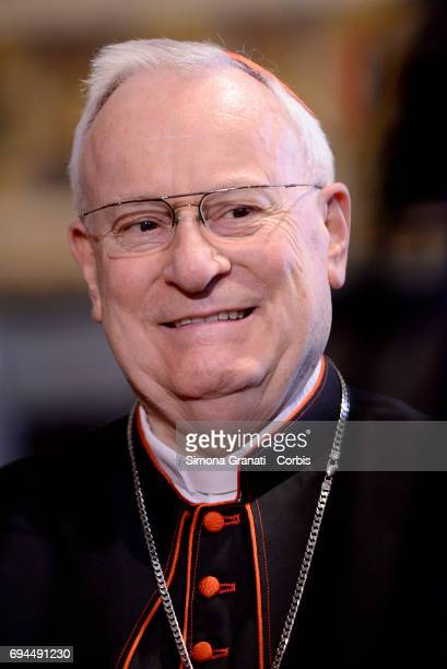 Cardinal Gualtiero Bassetti Archbishop of Perugia President of the Italian Episcopal Conference during the visit of Pope Francis to the Quirinale...