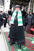 Cardinal Timothy Dolan greets his flock during the 2014 St Patrick's Day Parade on March 17 2014 in New York City