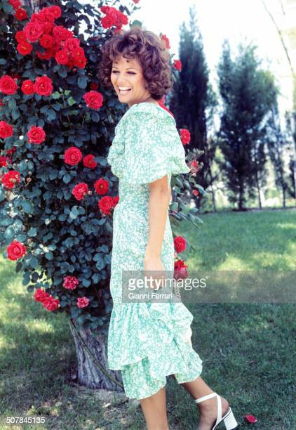 Cardinale in the garden of his hotel 22nd August 1971 Madrid Spain