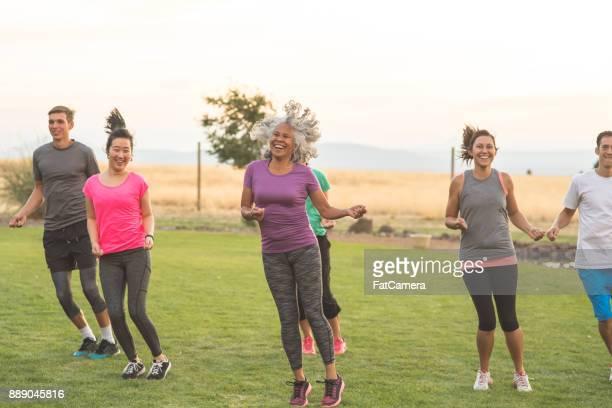 Cardio-Fitness-Klasse