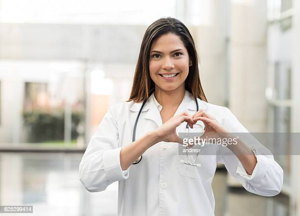Cardiologist at the hospital
