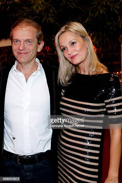 Cardiologist/nutritionist Dr Frederic Saldmann and his wife Marie attend the 1st wedding anniversary of actress Cyrielle Clair and businessman Michel...