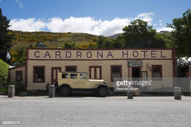 Cardrona Hotel classic view maintaining its old built.
