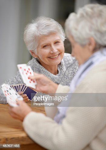 Cards are an excellent way to pass the time!