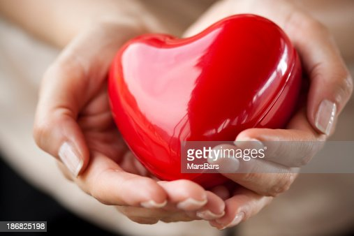 care for your heart : Stock Photo
