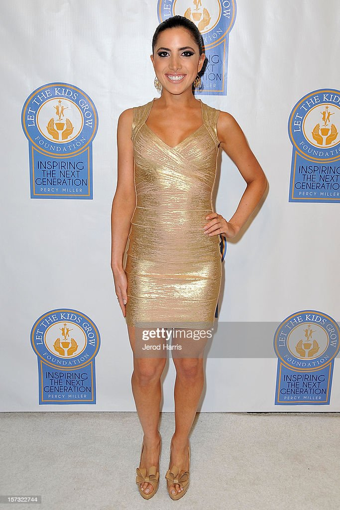 Caren Brooks arrives at Let The Kids Grow Foundation Holiday Gala at the Beverly Wilshire Four Seasons Hotel on December 1, 2012 in Beverly Hills, California.