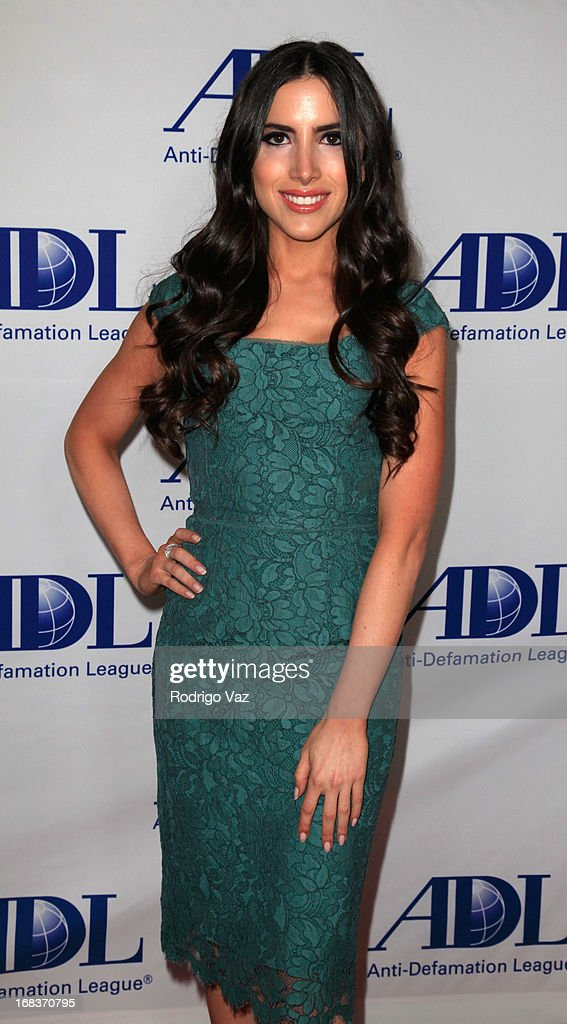 Caren Brooks arrives at the Anti-Defamation League Centennial Entertainment Industry Awards Dinner at The Beverly Hilton Hotel on May 8, 2013 in Beverly Hills, California.