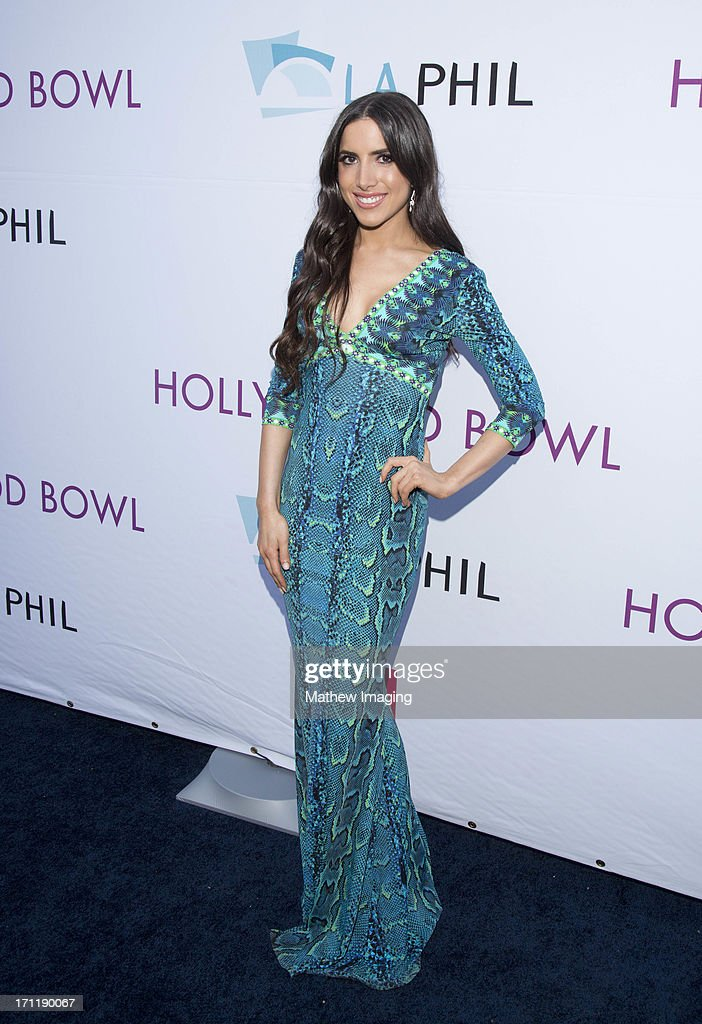Caren Brooks attends Hollywood Bowl Opening Night Gala - Arrivals at The Hollywood Bowl on June 22, 2013 in Los Angeles, California.