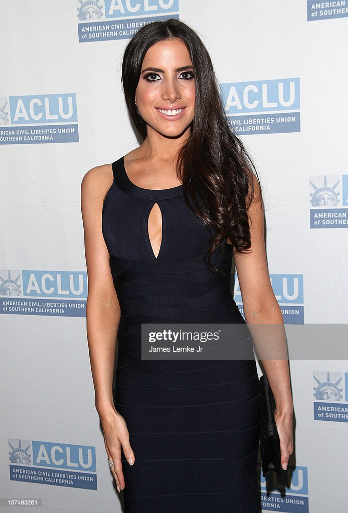 Caren Brooks attends the ACLU of Southern California's 2012 Bill of Rights Dinner held at the Beverly Wilshire Four Seasons Hotel on December 3, 2012 in Beverly Hills, California.