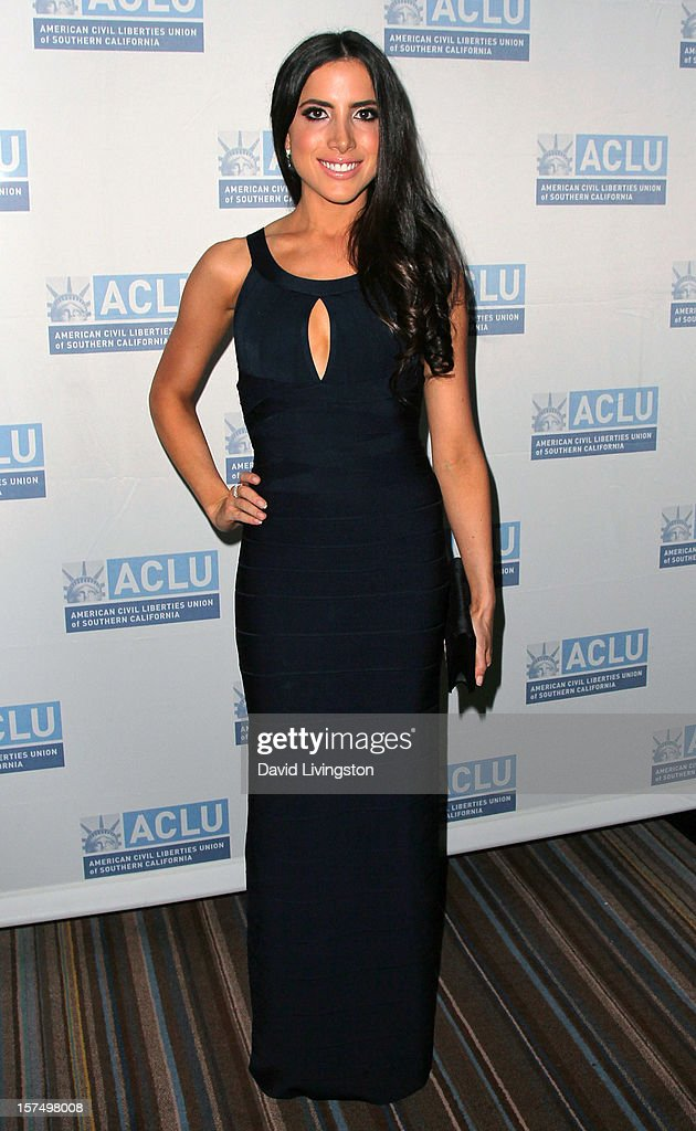 Caren Brooks attends the ACLU of Southern California's 2012 Bill of Rights Dinner at the Beverly Wilshire Four Seasons Hotel on December 3, 2012 in Beverly Hills, California.