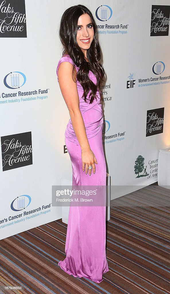 Caren Brooks attends the EIF Women's Cancer Research Fund's 16th Annual 'An Unforgettable Evening' presented by Saks Fifth Avenue at the Beverly Wilshire Four Seasons Hotel on May 2, 2013 in Beverly Hills, California.