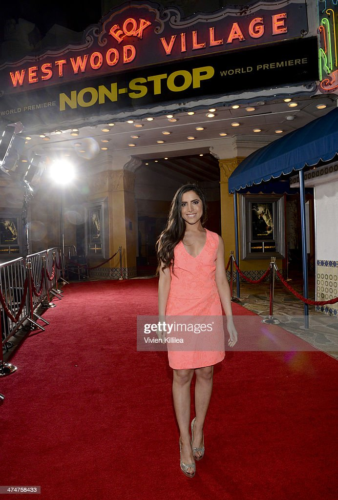 "Caren Brooks At The World Premiere Of ""Non-Stop"""