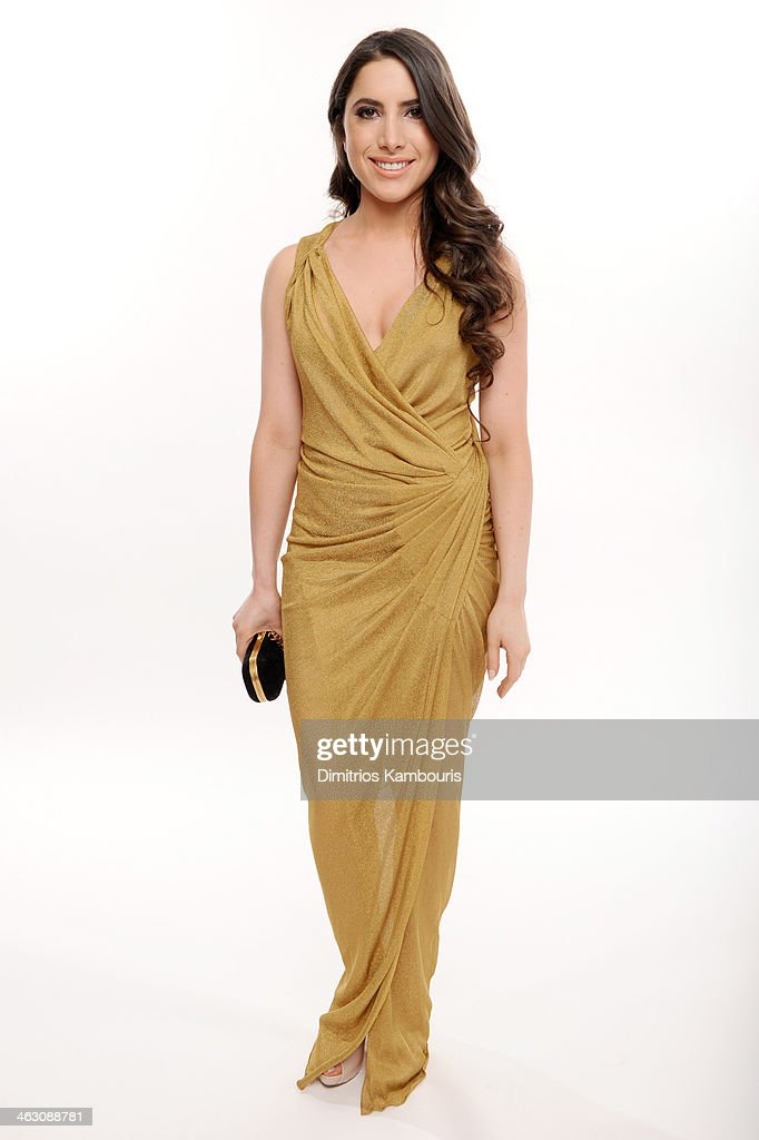 Caren Brooks of the Brooks Family Foundation poses for a portrait during the 19th Annual Critics' Choice Movie Awards at Barker Hangar on January 16, 2014 in Santa Monica, California.