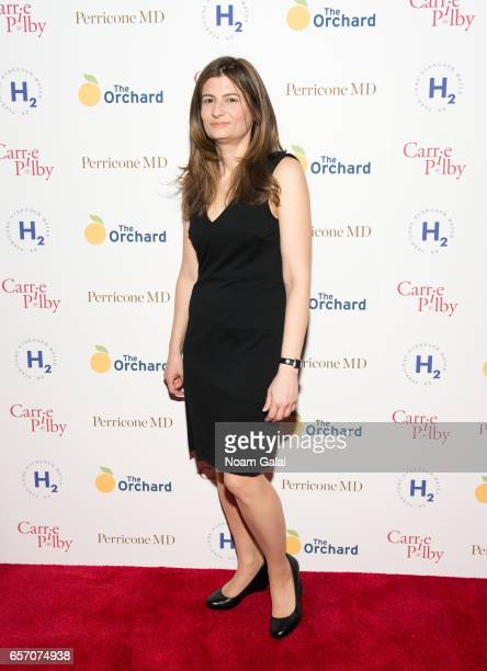 Caren Lissner attends the 'Carrie Pilby' New York screening at Landmark Sunshine Cinema on March 23 2017 in New York City