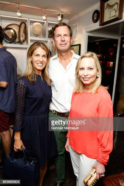 Caren Zucker Jamie Creel and Gillian Miniter attend the Creel and Gow hosts 'Haute Bohemians' book signing with Miguel FloresVianna and Amy Astley on...