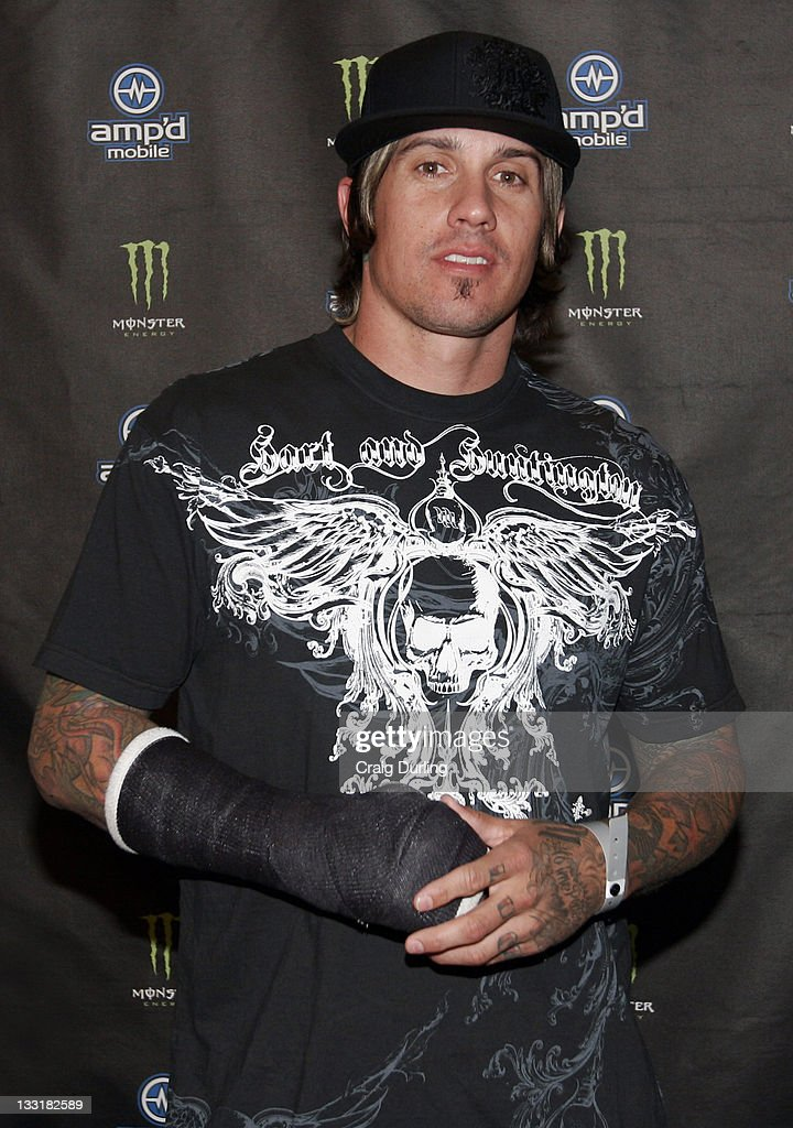 Carey Hart during Amp'd Mobile Monster Energy Supercross Season Wrap Party at Palms Hotel Casino in Las Vegas Nevada United States