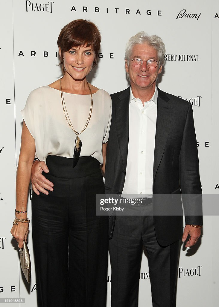 Carey Lowell and Richard Gere attend the 'Arbitrage' New York Premiere at Walter Reade Theater on September 12 2012 in New York City