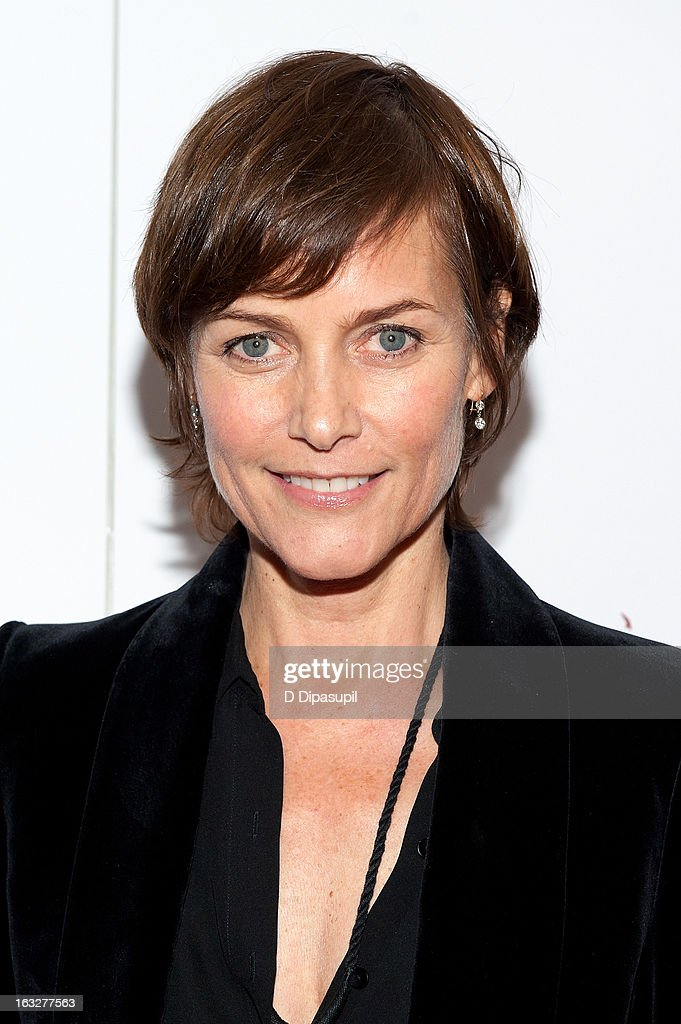 Carey Lowell attends the 'Girl Rising' premiere at The Paris Theatre on March 6, 2013 in New York City.