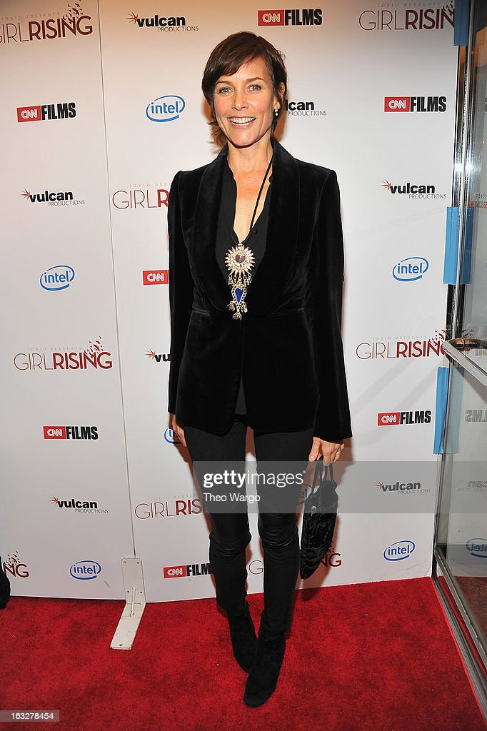 <a gi-track='captionPersonalityLinkClicked' href=/galleries/search?phrase=Carey+Lowell&family=editorial&specificpeople=211361 ng-click='$event.stopPropagation()'>Carey Lowell</a> attends the 'Girl Rising' premiere at The Paris Theatre on March 6, 2013 in New York City.