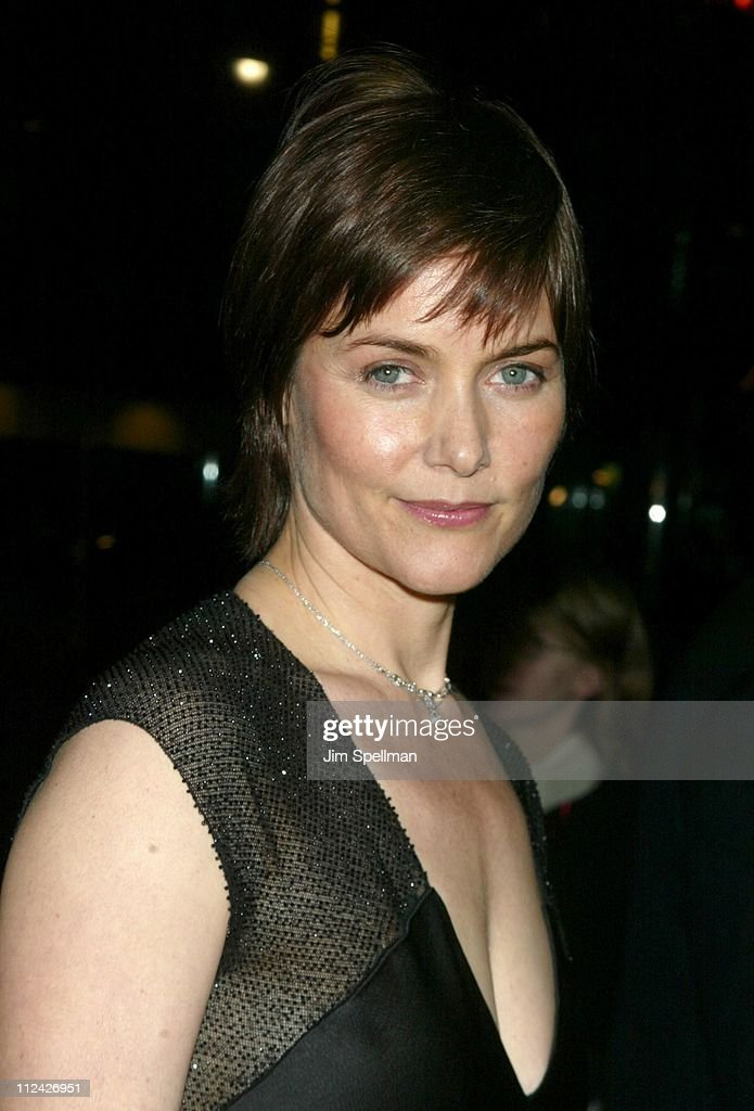 Carey Lowell during amfAR Benefit Evening Honoring Richard Gere Lorne Michaels and Anna Wintour Arrivals at Cipriani's 42nd St in New York City New...