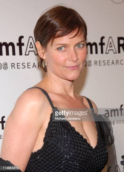 Carey Lowell during AmfAR New York City Gala Honoring John Demsey Whoopi Goldberg and Bill Roedy Inside at Cipriani's 42nd Street in New York City...