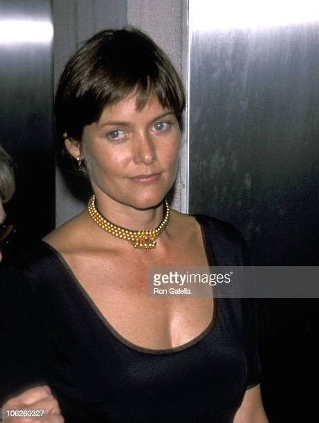 Carey Lowell during Carey Lowell Sighting at the W Hotel August 12 1999 at W Hotel in New York City New York United States