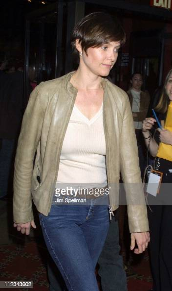Carey Lowell during New York Premiere Of 'The Last Waltz' Rerelease at The Ziegfeld Theatre in New York New York United States