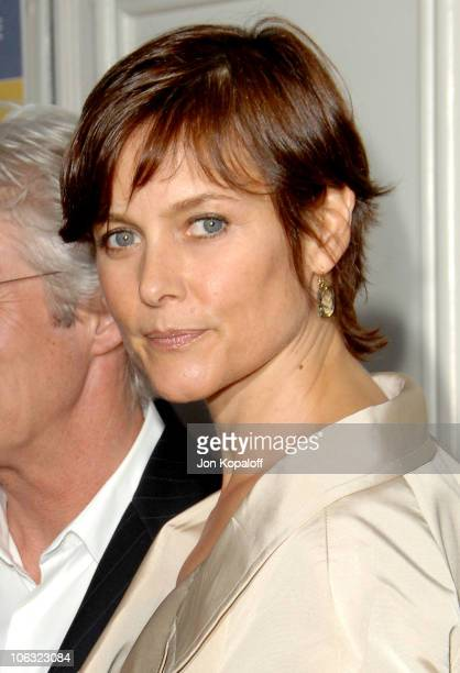 Carey Lowell during 'The Hoax' Los Angeles Premiere Arrivals at Mann's Festival Theater in Westwood California United States