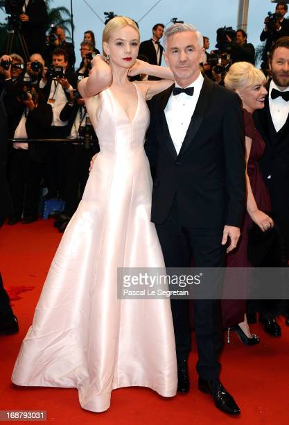 Carey Mulligan and Baz Luhrmann attend the Opening Ceremony and 'The Great Gatsby' Premiere during the 66th Annual Cannes Film Festival at the...
