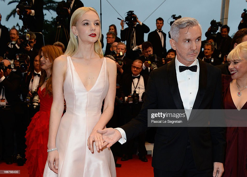 Carey Mulligan and Baz Luhrmann attend the Opening Ceremony and 'The Great Gatsby' Premiere during the 66th Annual Cannes Film Festival at the Theatre Lumiere on May 15, 2013 in Cannes, France.