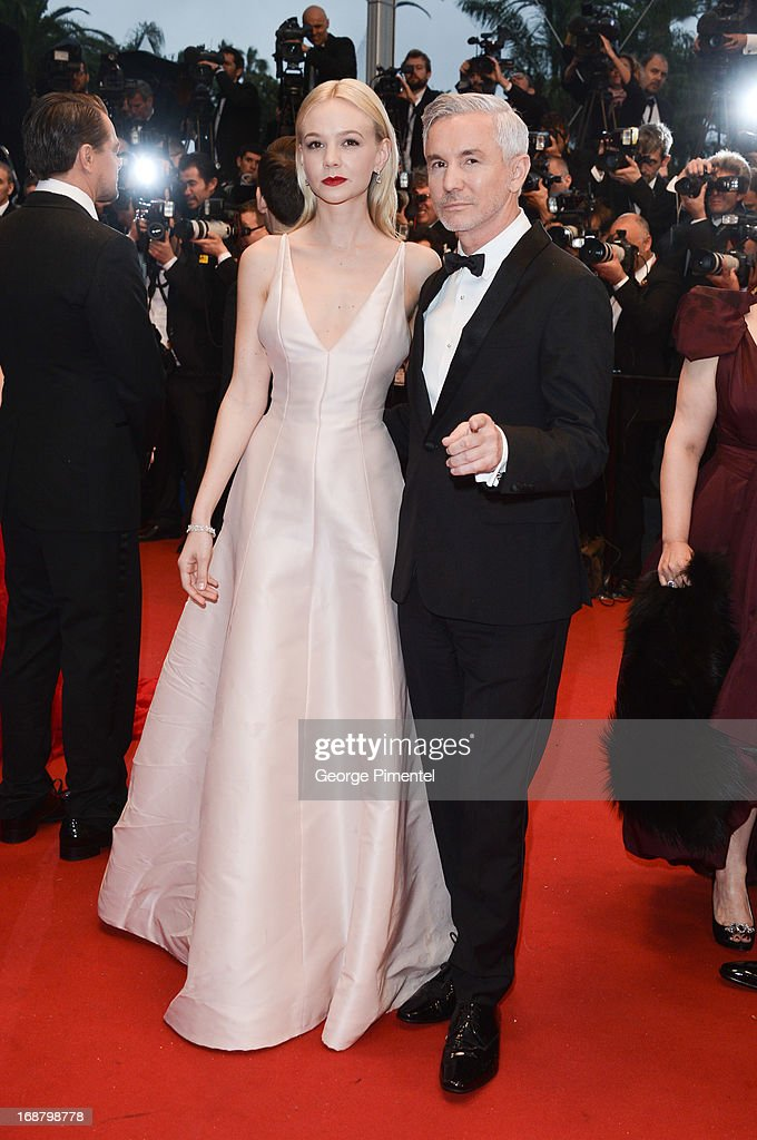 Carey Mulligan and director Baz Luhrmann attend the Opening Ceremony and Premiere of 'The Great Gatsby' at The 66th Annual Cannes Film Festival at Palais des Festivals on May 15, 2013 in Cannes, France.