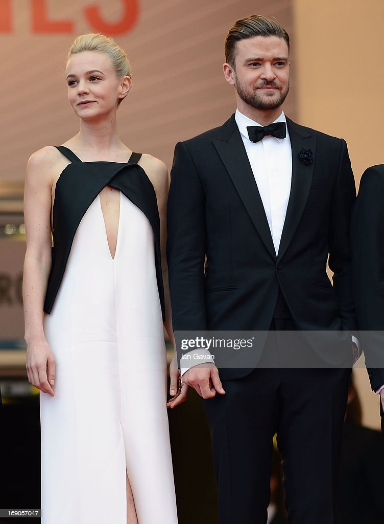 Carey Mulligan and Justin Timberlake attend the 'Inside Llewyn Davis' Premiere during the 66th Annual Cannes Film Festival at Grand Theatre Lumiere on May 19, 2013 in Cannes, France.
