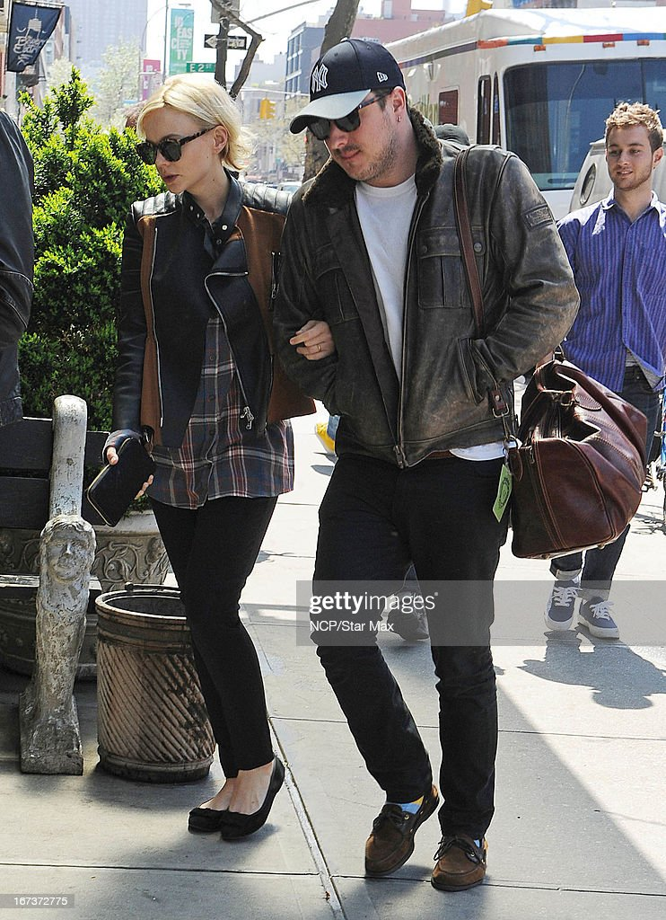 Carey Mulligan and Marcus Mumford as seen on April 24, 2013 in New York City.