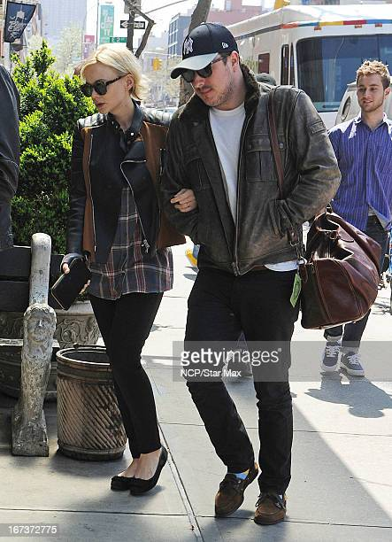 Carey Mulligan and Marcus Mumford as seen on April 24 2013 in New York City