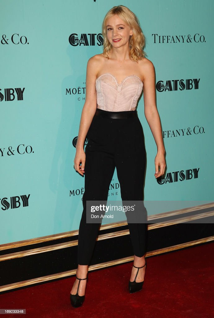 Carey Mulligan arrives for the Sydney premiere of 'The Great Gatsby' at The Entertainment Quarter on May 22, 2013 in Sydney, Australia.