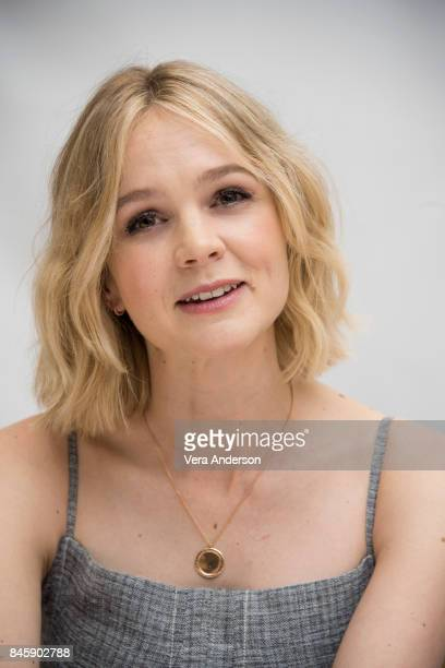 Carey Mulligan at the 'Mudbound' Press Conference at the Fairmont Royal York Hotel on September 11 2017 in Toronto Canada